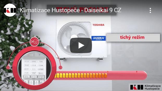 Toshiba Daiseikai - video představení klimatizace v češtině